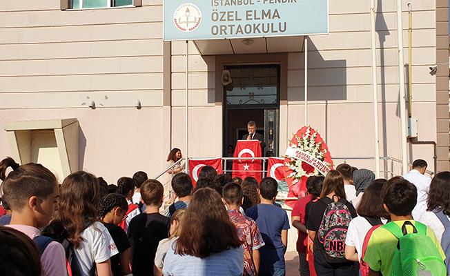 Özel Elma Kolejinde 2019-2020 eğitim-öğretim yılı açıldı