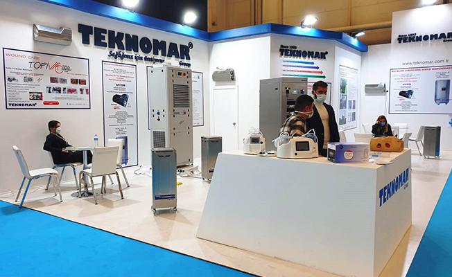 Teknomar, yeni ürünleri ile Expomed Fuarı'na katıldı